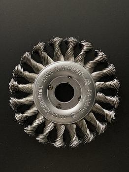 Щётка дисковая D 125 x 12 x 22,2 mm. OSBORN Жгутовая стальная проволока 0,5mm