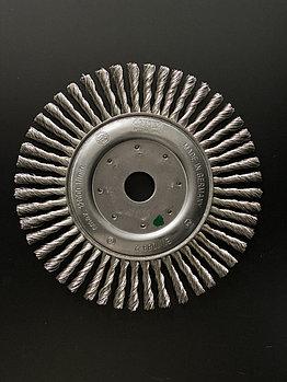 Щётка дисковая D 178 x 6 x 22,2 mm. OSBORN Жгутовая нержавеющая проволока 0,35mm