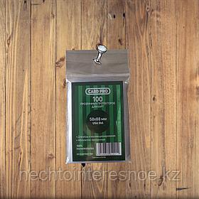Прозрачные протекторы Card-Pro 58x88 мм
