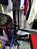 Лежак скамья под штангу с дополнительными функциями, фото 2