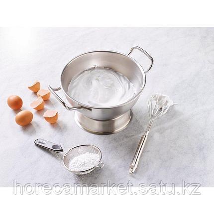 Чаша для смешивания 32 см., с двумя ручками, нерж. сталь, фото 2