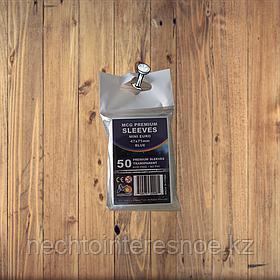 Протекторы для карт MCG Premium Mini Euro (47 x 71 мм)