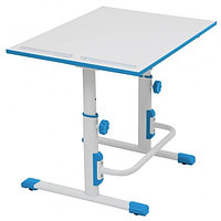Растущая парта-трансформер Polini kids Simple М1, 75х55 см, белый-синий