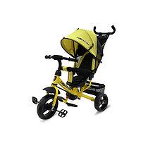 Велосипед 3-х колесный Lexus Trike, колеса пластик, желтый, фото 1