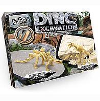 """Набор для проведения раскопок """"DINO EXCAVATION скелет Стегозавра, скелет Тираннозавра"""" , шт"""