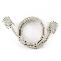 Кабель Cablexpert DVI-D dual link CC-DVI2-6C, 25M/25M (1.8м)