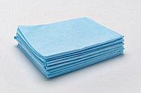 Простыни одноразовые GKS, спанбонд 25 гр/м2, голубой, размер 140*70 см (1 шт.)