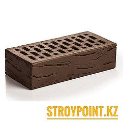 Кирпич облицовочный шоколад-антик (Россия)