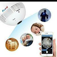 1080P Wifi камера Камерная лампа 360º