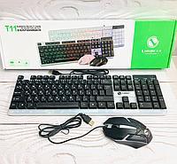 """Клавиатура игровая """"Limeide T11""""в комплекте с мышкой."""