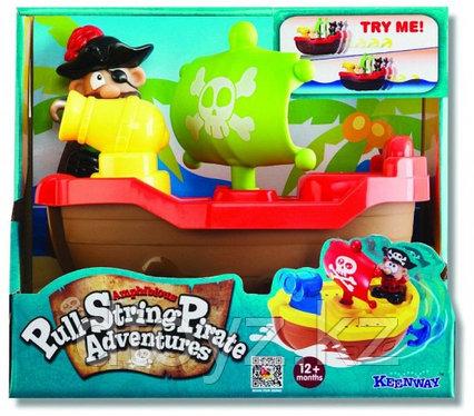 Keenway Игрушка для купания Пират (красный) 12276