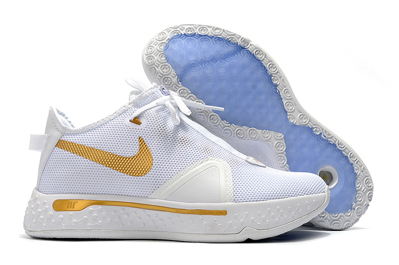 "Nike PG4 ""White/Gold"" (40-46)"