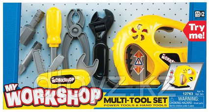 Keenway Набор инструментов с электрорубанком 12763