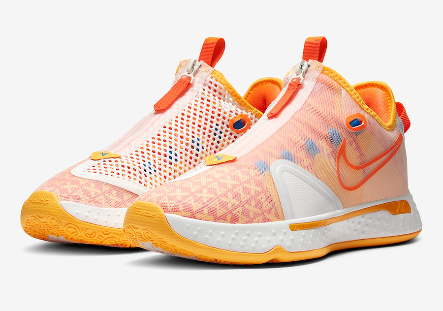 "Nike PG4 Gatorade ""GX White"" (40-46)"