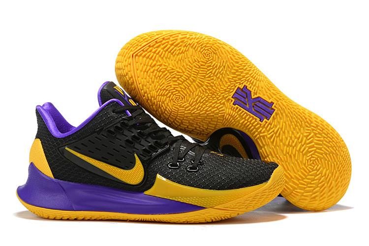 "Игровые кроссовки Nikе Kyrie Low 2 ""Dark Lakers"" (36-46)"