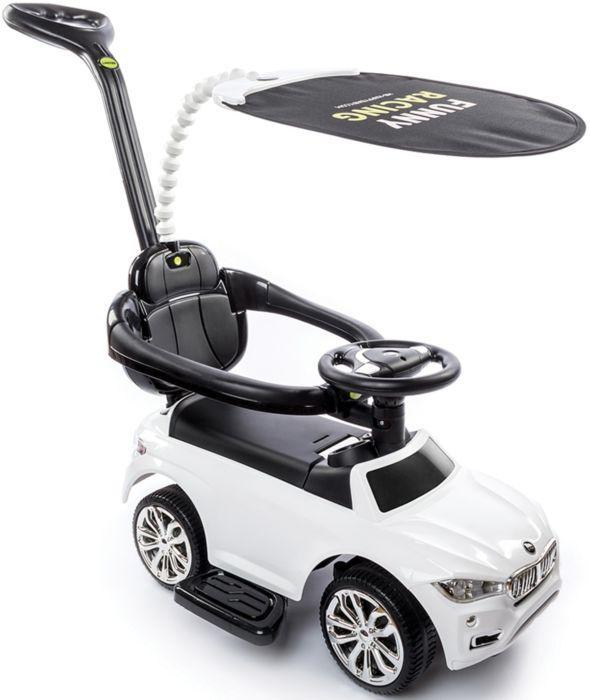 Машинка-каталка Happy Baby Jeepsy White