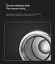 Смарт термокружка с дисплеем, фото 3