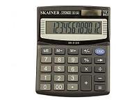 """Калькулятор настольный SKAINER """"312II"""" 12 разрядный черный"""