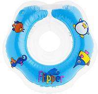 Круг на шею Roxy Kids Flipper для купания малышей 0+, фото 1