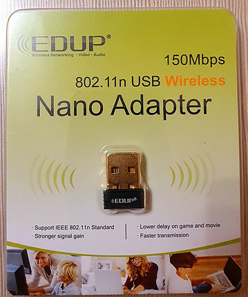 USB Wi-Fi adapter EDUP 150Mbit, фото 2