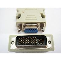 Переходник DVI (m) (24+5)/DVI-I -VGA (f) Gold-Plated