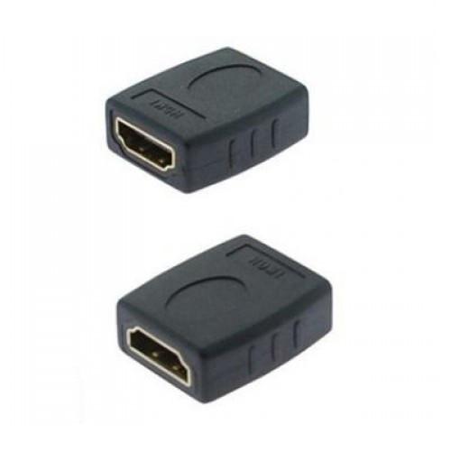 Переходник HDMI (f) - HDMI (f) Gold-Plated