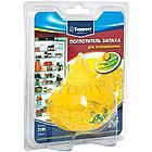 """Гелевый поглотитель запаха для холодильника """"ЛИМОН""""  TOPPERR в пластиковом блистере."""