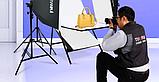 Софтбокс (комплект 3 шт.+фотостол), фото 4
