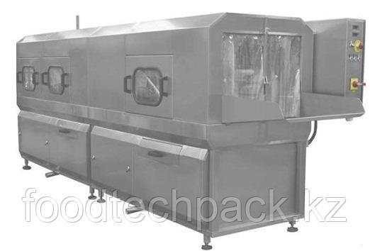 Машина для мойки ящиков с предварительной мойкой 600 шт./час