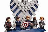 Аналог лего Lego 76042 LION KING 180081 LEPIN 07043 Геликарриер — воздушный перевозчик организации Щ.И.Т., фото 3