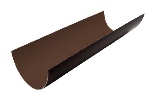 Желоб водосточный 120x3000 мм FINEBER Коричневый