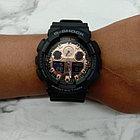 Часы Casio G-Shock GA-100MMC-1A. Black and Rose Gold. Оригинал 100%. Рассрочка. Kaspi RED, фото 4