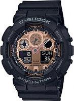 Часы Casio G-Shock GA-100MMC-1A. Black and Rose Gold. Оригинал 100%. Рассрочка. Kaspi RED
