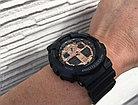 Часы Casio G-Shock GA-100MMC-1A. Black and Rose Gold. Оригинал 100%. Рассрочка. Kaspi RED, фото 6