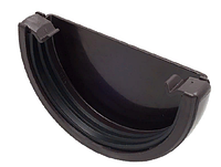 Заглушка желоба 120x80 мм FINEBER Коричневый