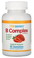 Жевательные таблетки с комплексом витаминов группы B от California Gold Nutrition