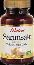 Пищевая добавка в виде капсул с чесноком 100 капсул Balen, Турция