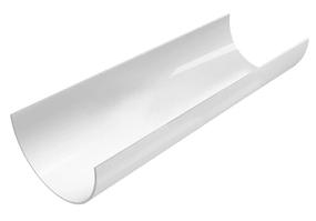 Желоб водосточный 120x3000 мм FINEBER Белый