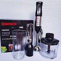 Блендер Bosch HB608SS с чашей измельчения, венчиком и стаканом., фото 1