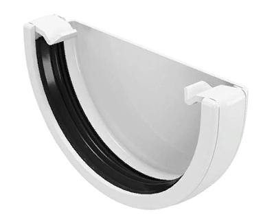 Заглушка желоба 120x80 мм FINEBER Белый