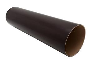 Труба водосточная 80x3000 мм FINEBER Коричневый