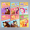 IQ-блокноты набор, Маша и Медведь, 6 шт по 20 стр   4737236