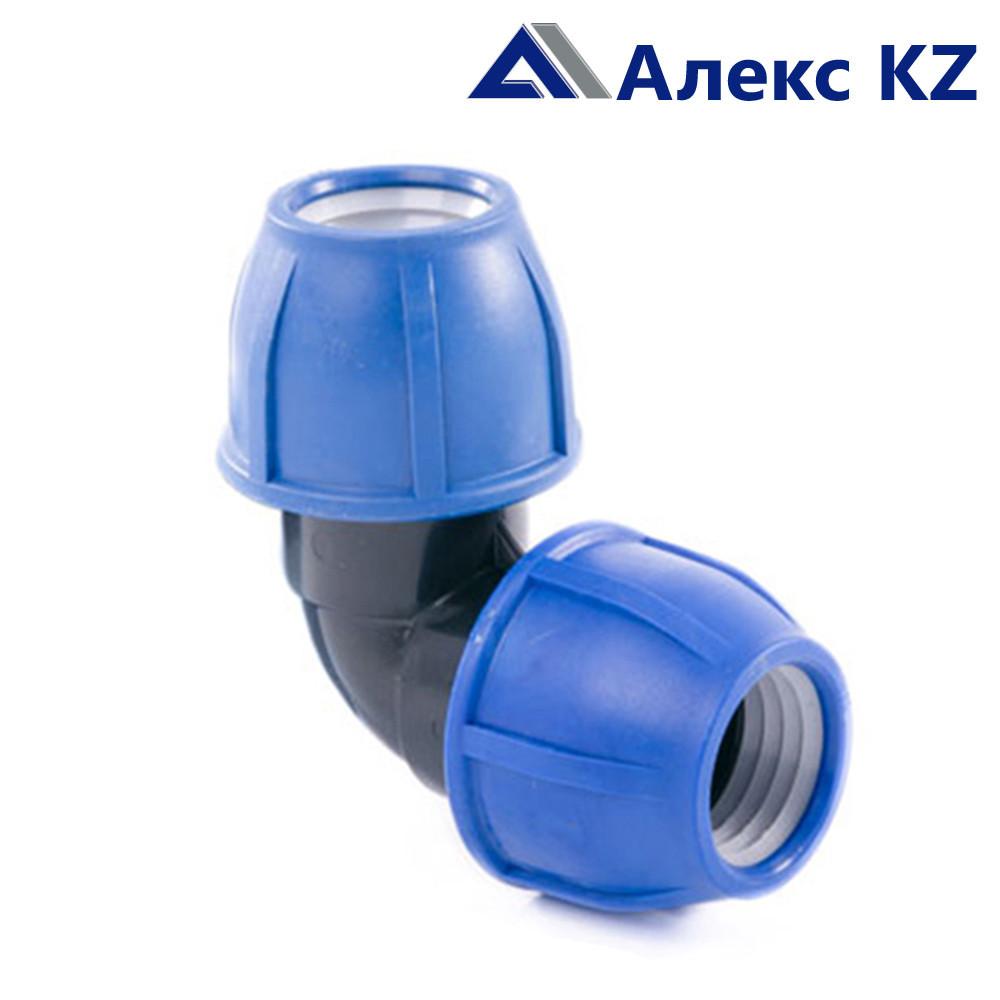 Отвод компрессионный 40 PN 16 ПЭ/РТП