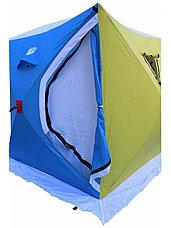 """Палатка для зимней рыбалки куб """"CONDOR"""" двухслойная 1,65х1,65х1,85 м, JX-0126, фото 2"""