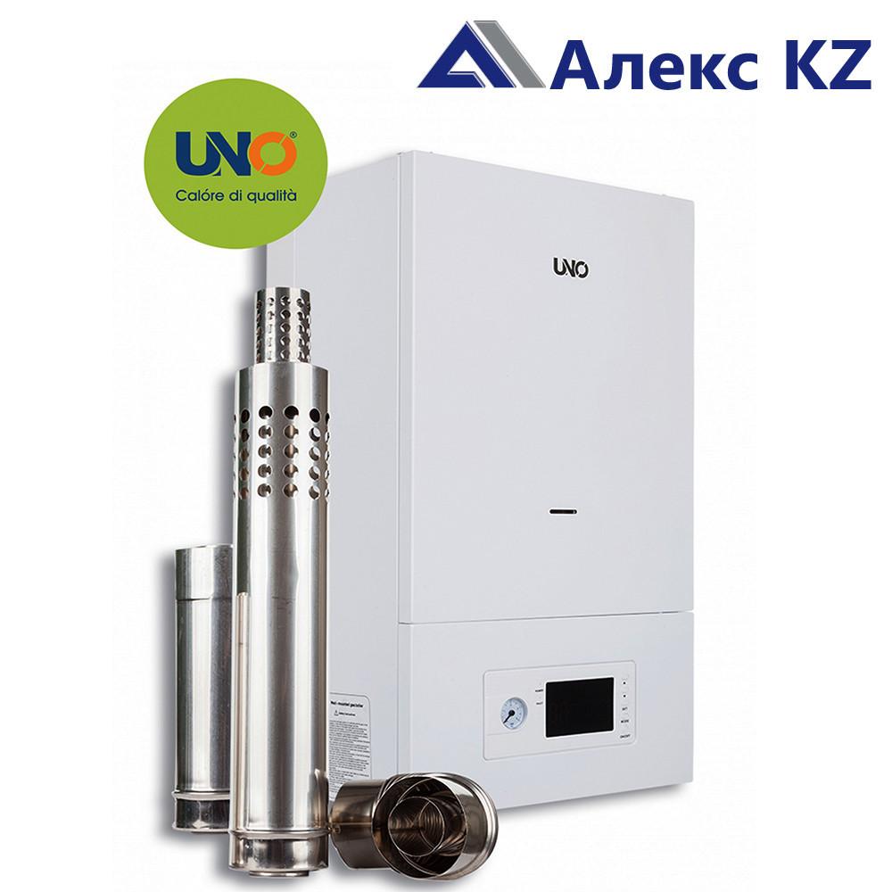 Котел газовый настенный UNO-PIRO 32 кВт с коаксиальным дымоходом