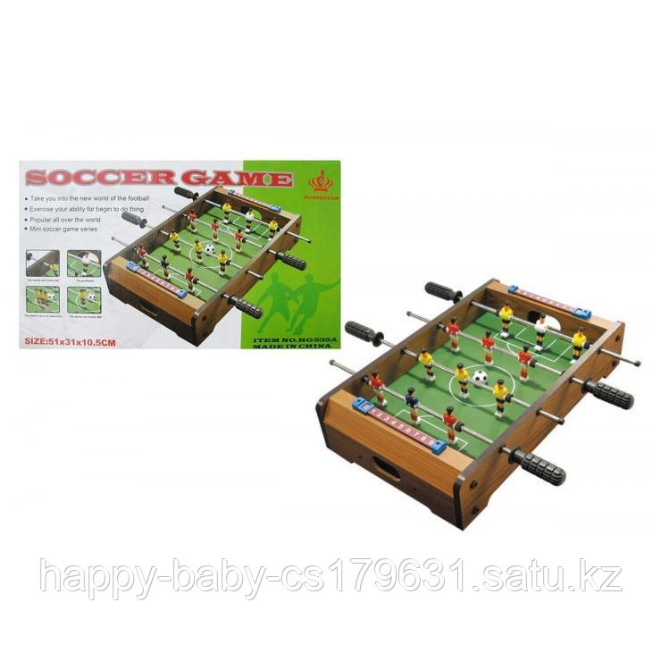 Настольный деревянный футбол  51х31х10.5см