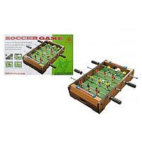 Настольный деревянный футбол  51х31х10.5см, фото 1