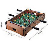 Настольный деревянный футбол  51х31х10.5см, фото 2