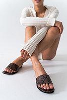 Босоножки с актуальным принтом под кожу питона Lera Nena Unreal