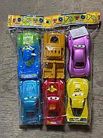 """Машинки """"ТАЧКИ"""" большие, в пакете 6шт (М-8)"""